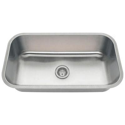 Home Depot Kitchen Sinks Stainless Steel by Polaris Sinks Undermount Stainless Steel 32 In Single