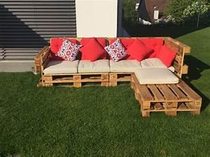 Gartenmöbel Aus Paletten Bauen : gartenlounge aus paletten selber bauen heimwerkerking ~ Michelbontemps.com Haus und Dekorationen