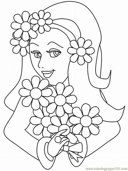 Coloring Pages Teenagers Printable Flower