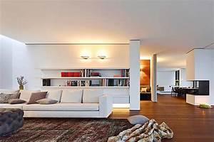 Wohnzimmer Mit Offener Küche : architektenh user freiraum beim wohnen bild 7 sch ner wohnen ~ Watch28wear.com Haus und Dekorationen