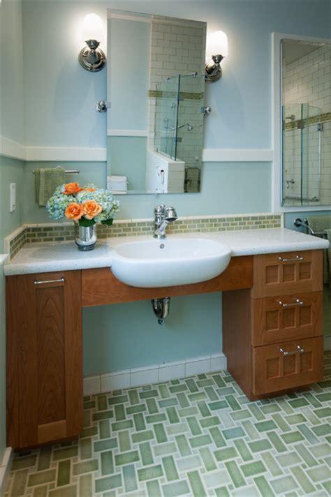 Universal Set Of Bathroom Furniture by Berkeley Traditional Universal Design Bathroom