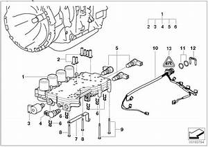 Bmw 323i Wiring Harness With Temperature Sensor  Transmission - 24367504752