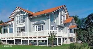 Amerikanische Häuser Innen : holzhaus american dream von baufritz landhaus in amerikanischem stil ~ A.2002-acura-tl-radio.info Haus und Dekorationen