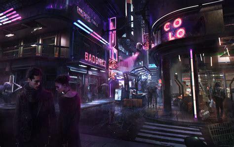 cyberpunk neon futuristic glowing wallpapers hd