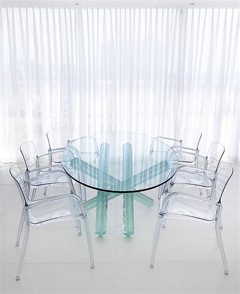 clear acrylic dining table 17 best images about transparent furniture on pinterest