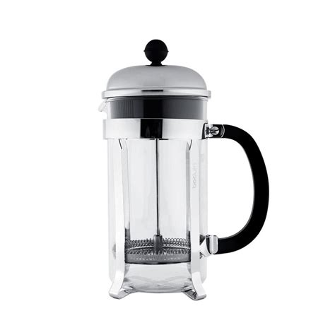 This ratio is often expressed like 1:13 where 1 is coffee and 13 is parts water. Bodum French Press (8 Cups) - Tentera Coffee Roasters Corporation