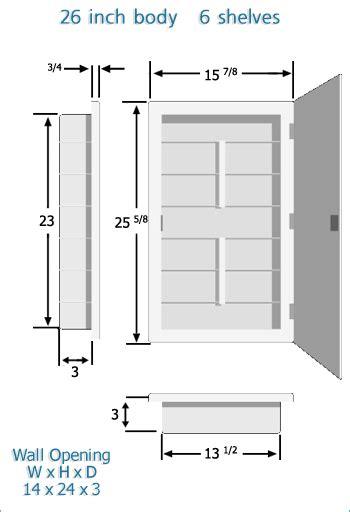 Zaca Medicine Cabinet Door Removal by Zaca Medicine Cabinets