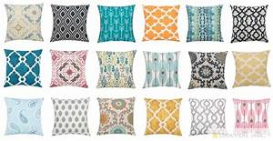 Pillow Covers - New Fabrics 116 Choices! Jane