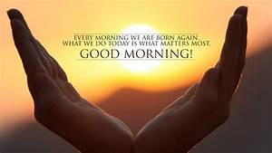 Beautiful Good Morning Nature Images With Quotes