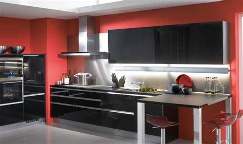d co cuisine déco cuisine et noir