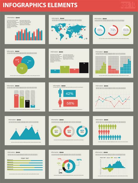 Infographics Elements  Free Vector Graphic Download