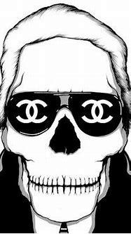 Chanel skull | Chanel, Tête de mort et Mode