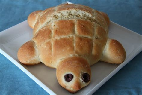 bread turtle food animal animals recipe shaped shapes recipes shape kid into pretty breads foods things lajollamom cutest anymore rounds