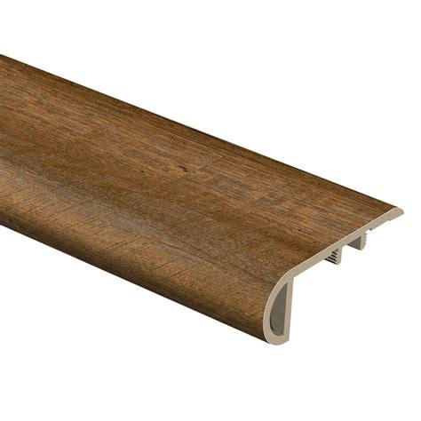 vinyl plank flooring stair nose zamma sawcut arizona sawcut classic 3 4 in thick x 2 1 8 in wide x 94 in length vinyl stair