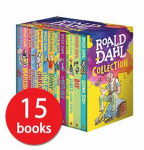 Roald Dahl Box Set Book Collection - 15 Books | eBay