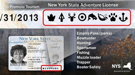 New York State Boating License by New York Will Add And Fishing Permits To Driver S