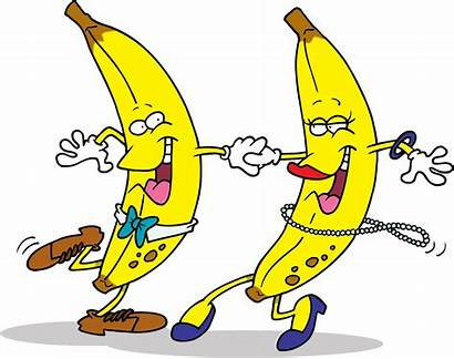Clip Funny Banana Dancing Clipart Fun Bananas