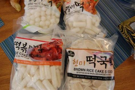 japanese  korean dok rice sticks  rice cakes