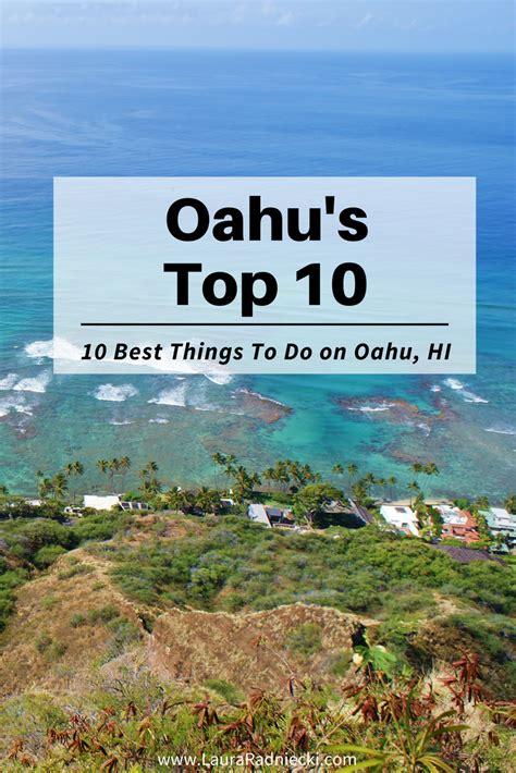 Top 10 Things To Do On Oahu Hawaii  Best Oahu Hawaii