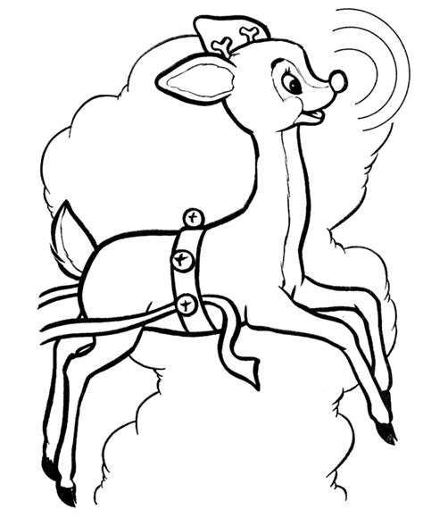 coloring pages reindeer coloring pages   printable
