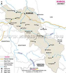 kargil district map