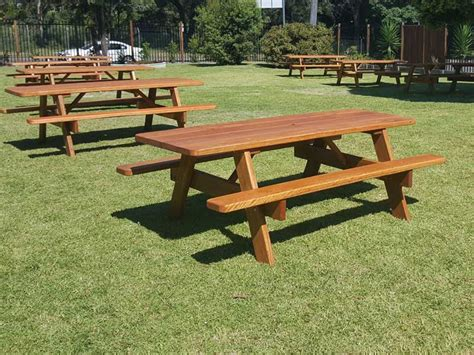 commercial picnic tables  billabong outdoor furniture
