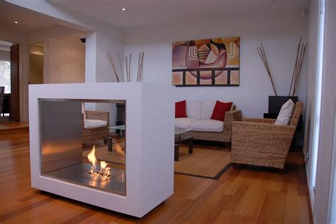 Vision Modern Ventless Fireplace Without Chimney Indoor