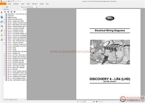land rover discovery l319 11my lr4 electrical wiring