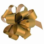 Gold Metallic Pull Bows