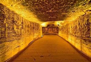 the famous tomb in Egypt of Ramses II   King Ramesses II ...