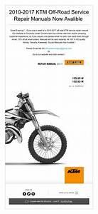 2017 Ktm 85 Sx Service Repair Manual         For More Manuals Vist  Offroadservicepro Com