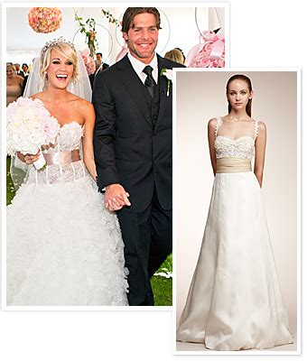 rent wedding dresses get a wedding dress like carrie underwood 39 s for less