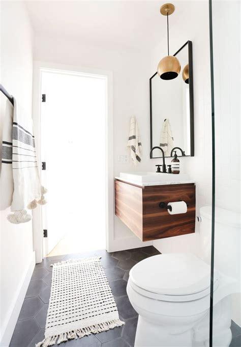 powder room basins gain de place salle de bain sur côté