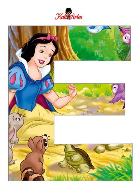 alfabeto de blancanieves  animales   alfabetos