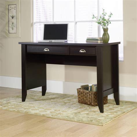 walmart office desk sauder saturn multi level computer workstation black and