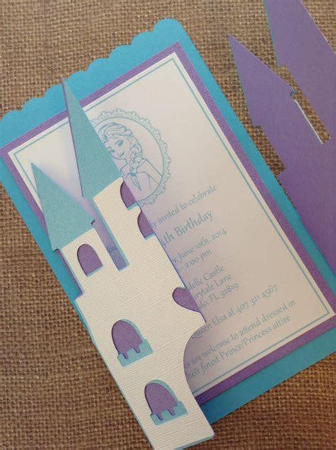 tarjetas de cumplea os para ni as preciosa invitación de frozen para cumpleaños fiestas y