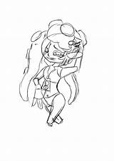Splatoon Marina Lil Sketch Fun Stay Hook sketch template