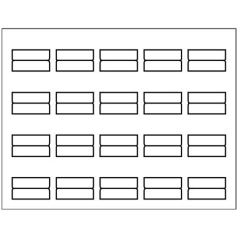 tab template avery print on tabs template free profmaster