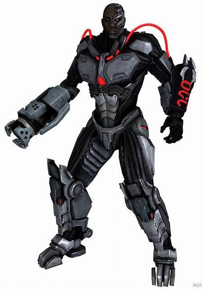 Cyborg Injustice Among Regime Gods Transparent Deviantart