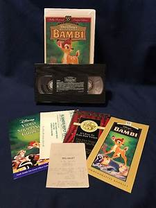 Walt Disney Masterpiece Collection Movie VHS Home Video ...