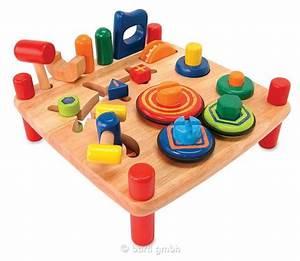 Lernspielzeug Ab 12 Monate : kinder werkbank lernspielzeug aus holz ab 19 monate von ~ A.2002-acura-tl-radio.info Haus und Dekorationen