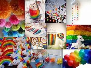 Inspiration: Enchanted Unicorn & Rainbow Birthday Party