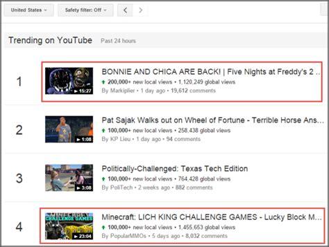 В тренде - YouTube