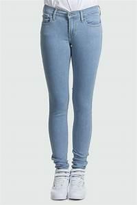 Jean Bleu Troué Femme : levi 39 s jeans levi 39 s super skinny ocean drift bleu clair femme skinny livraison et retour gratuits ~ Melissatoandfro.com Idées de Décoration