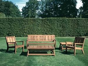 Banc En Teck : am nagement ext rieur jardin et terrasse mobilier en teck ~ Teatrodelosmanantiales.com Idées de Décoration