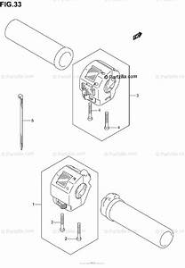 Suzuki Motorcycle 2002 Oem Parts Diagram For Handle Switch