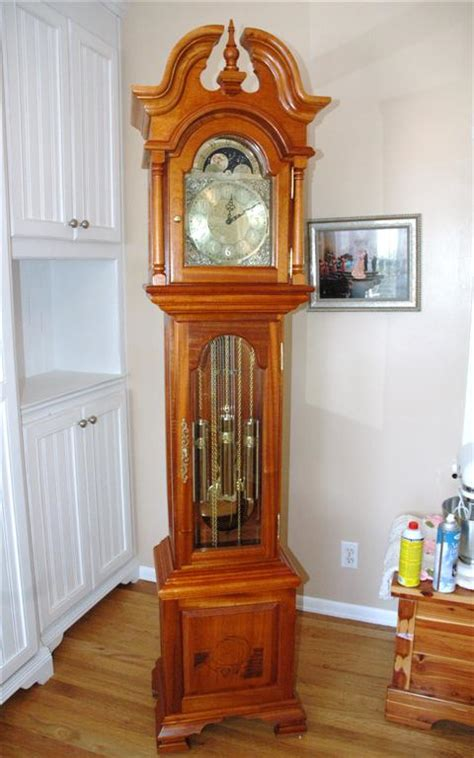 grandfather clock wedding gift finewoodworking