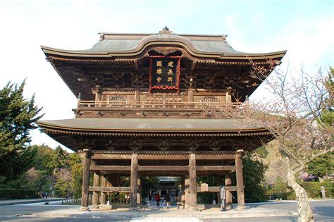 Architettura Giapponese Kamakura  Kenchouji Viaggi