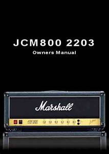 Marshall 2203 Amplifier Download Manual For Free Now