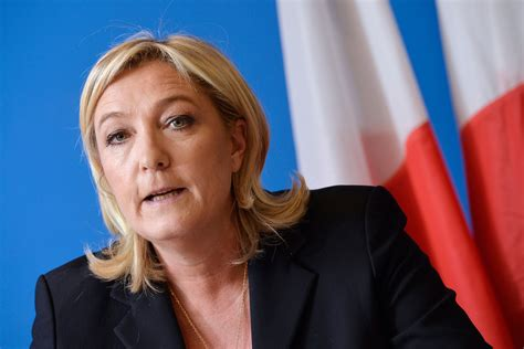 siege du front national marine le pen dénonce quot l 39 hystérie collective quot à l 39 encontre